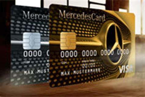 mercedes bank kreditkarte mercedes kreditkarten mercedescard gold silber
