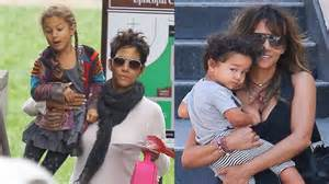 Halle berry s son amp daughter 2016 youtube