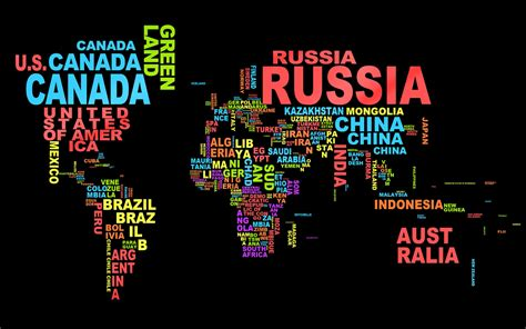 typography names world map on your desktop creative designs desktop wallpaper hd wallpapers backgrounds photos