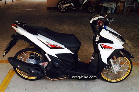 warna putih modifikasi motor honda vario cbs autos post