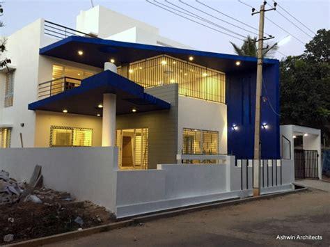 luxury modern villa designs bangalore  ashwin