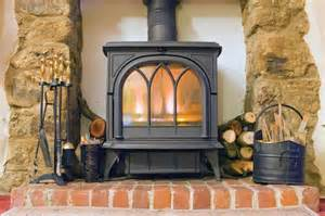 two types of wood stoves chimney stoves and air duct