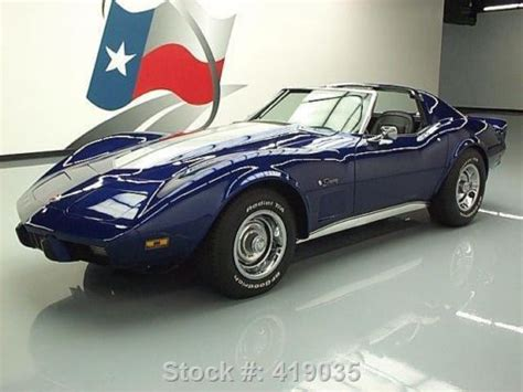 1975 Used Chevrolet Corvette Coupe With T Tops At Dixie Cars Serving Duluth Ga Iid 1356383 Find Used 1975 Chevy Corvette Stingray Coupe 5 7l 4spd T Tops 83k Direct Auto In Stafford