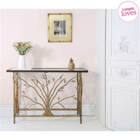 console table in bedroom branching out gold console table french bedroom company