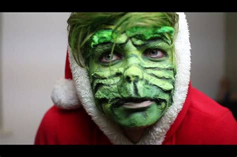 joe sugg grinch make up by zoella edit by berniund