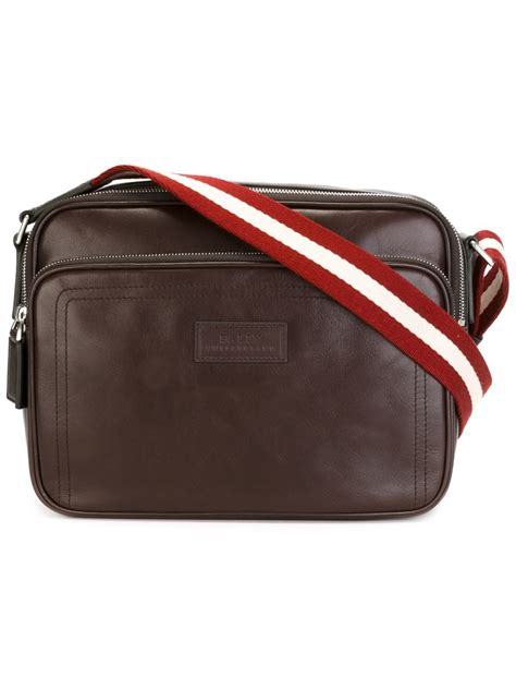 Bally Bottine Messenger Bag by Bally Traipse Messenger Bag In Brown For Lyst