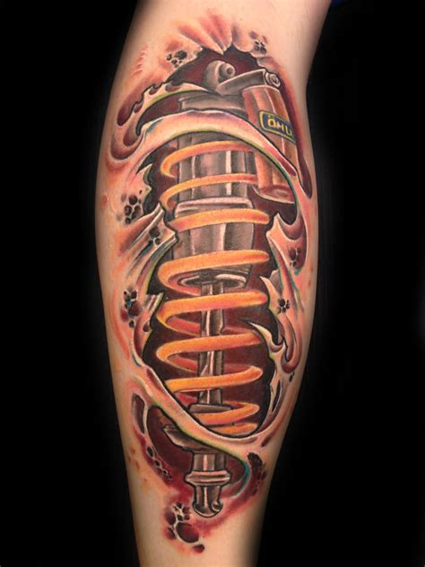 mechanical tattoo designs bio mechanic by toby harris tattoos