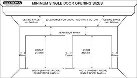 how to size a garage door opener garage garage door size home garage ideas