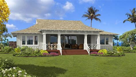 Hawaii Plantation Home Plans Plantation Cottage 16 Just Polynesian House Plans
