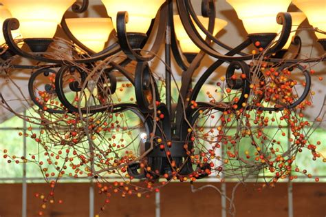 fall chandelier decorations chandelier decorated for fall