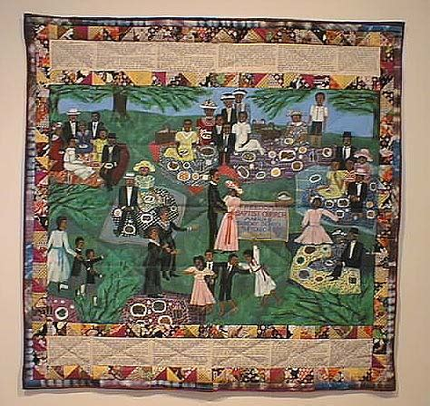 Story Quilts by Church Picnic Story Quilt