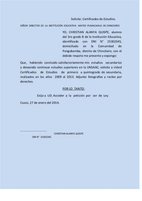 Modelo De Solicitud 2016 Peru   modelos de solicitud 2016 en peru