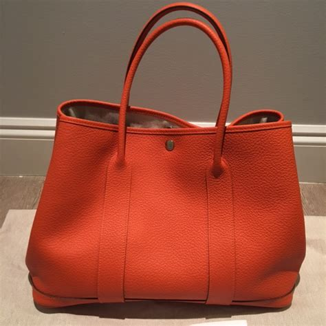 Lust Renton Orange Pouchbag hermes leather tote hermes birkin