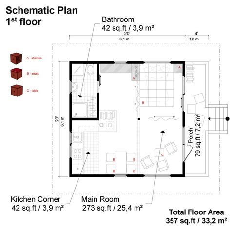weekend cabin floor plans weekend cabin plans