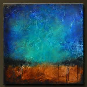 sapphire and sand 6 abstract acrylic painting 36 x 36