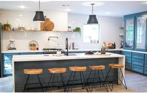 kitchen inspiration   no upper cabinets only open shelving