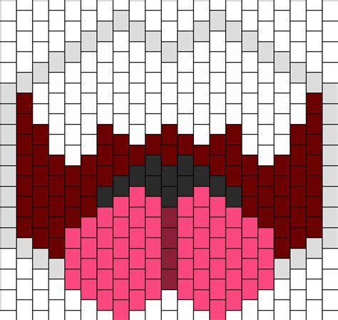 pattern generator mask mario boo open mouth mask bead pattern peyote bead