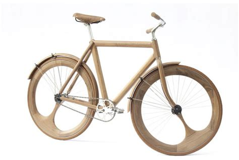 the 95 almost all wooden dutch bike lost in a supermarket