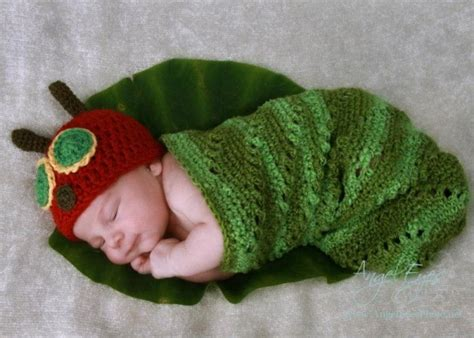 crochet pattern very hungry caterpillar crochet hungry caterpillar cocoon and hat set with free