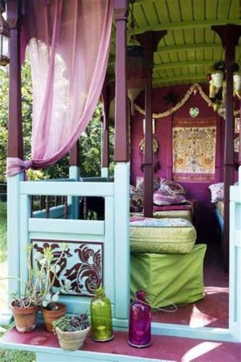 bohemian decorating ideas project awesome photos on with bohemian 20 awesome bohemian porch d 233 cor ideas digsdigs
