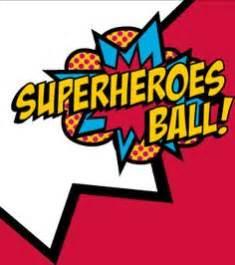 superheros logo letters clipart