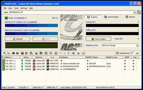software ip look lan free ip address scanner and network monitoring