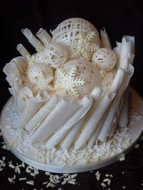 White Chocolate Tree Decorations by 25 Best Ideas About Cake Decorations On