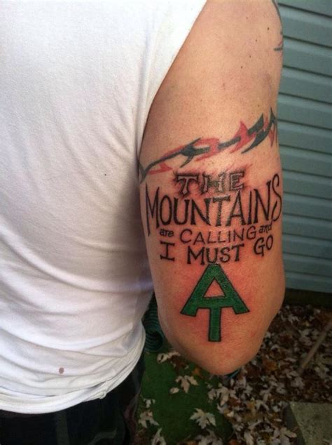 appalachian trail tattoo 70 breathtaking mountain tattoos design mens craze