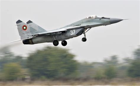 the bulgarian air force bulgaria romania and turkey should boost co operation in air policing to meet russian flights