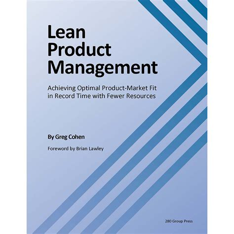 Production Management Books For Mba by Lean Product Management Book 280 Product Management