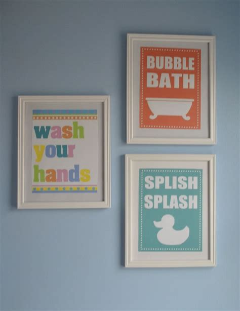 free printable wall art for bathroom 5 best images of bathroom wall art kids free printables