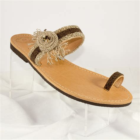 Handcrafted Sandals - handmade sandals quot kalypso quot dia s handmade