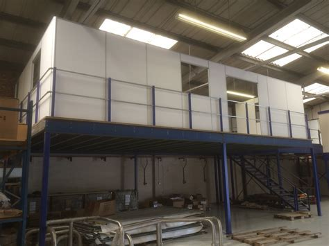 OFFICE BUILD ON MEZZANINE FLOOR ? Commercial Refurbishment