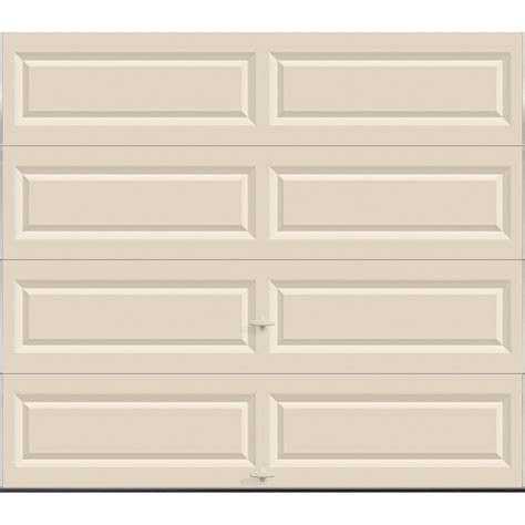 8 X 7 Insulated Garage Door by Clopay Value Series 8 Ft X 7 Ft Non Insulated Solid