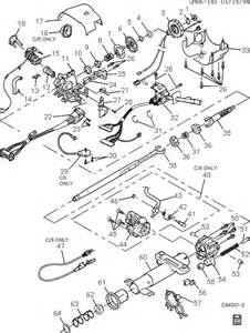 1996 Buick Riviera Parts Exploded View For The 1996 Buick Riviera Tilt Steering