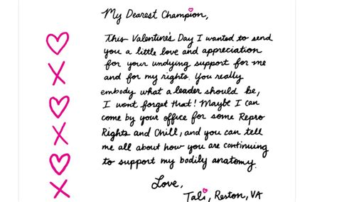 valentines letter for planned parenthood hosts s day letter