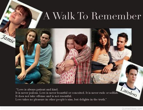 A To Remember a walk to remember quotes