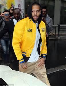 Yellow Lamborghini Chris Brown