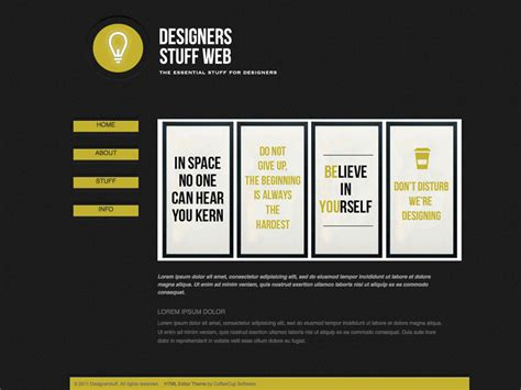 html editor themes the theme store page 9 coffeecup software store