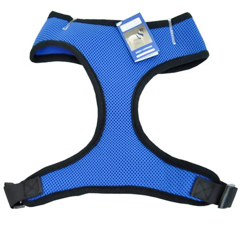 small harness vest casual canine mesh harness vest small blue