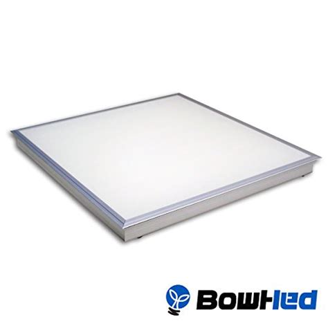 bowhed 2x2 ft led ceiling panel fixture t bar recessed