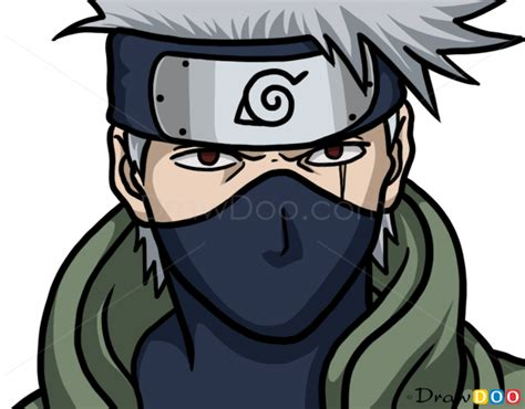 Drawing Kakashi by How To Draw Kakashi Hatake