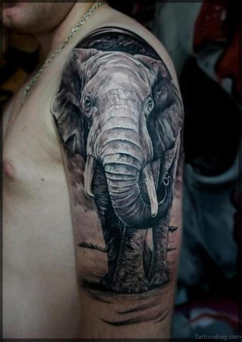 cool elephant tattoos 48 cool elephant tattoos on shoulder