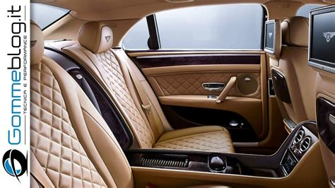 bentley sedan interior bentley flying spur the luxury sedan interior