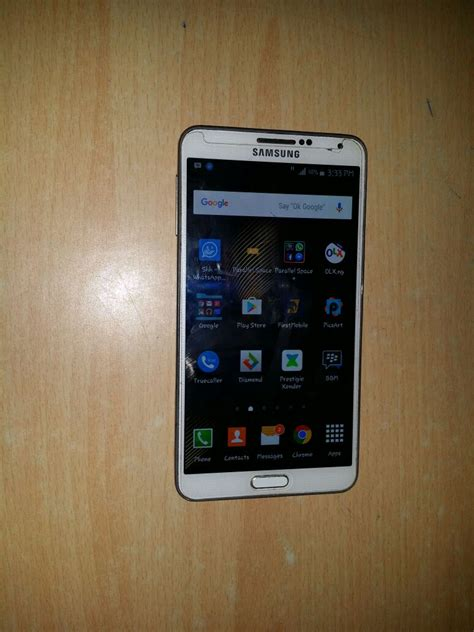Hp Samsung Note 3 N900 sold slightly used samsung note 3 n900 50k sold