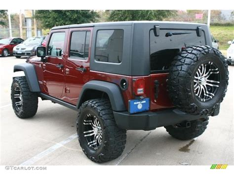 jeep custom wheels 2007 jeep wrangler unlimited rubicon 4x4 custom wheels