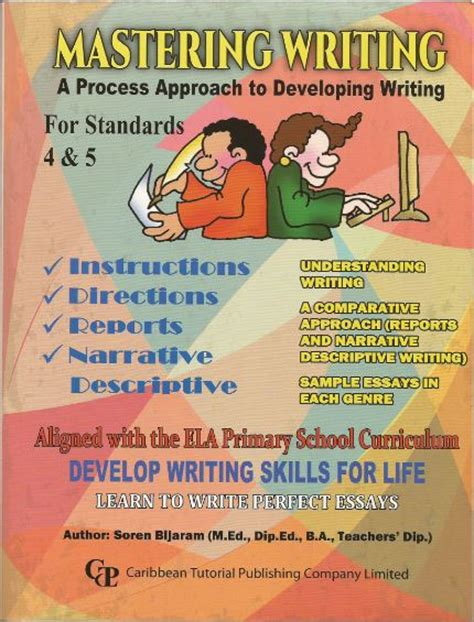 a process developing a new approach to living books mastering writing a process approach to developing