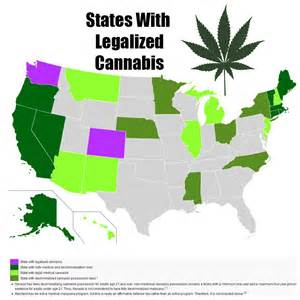 States With Legal Weed Map by Pics Photos Legalization Of Marijuana In The State Of