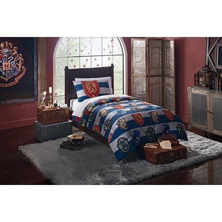 harry potter bedding comforter harry potter quot rugby pride quot 4 bed in a bag bedding set for comforter