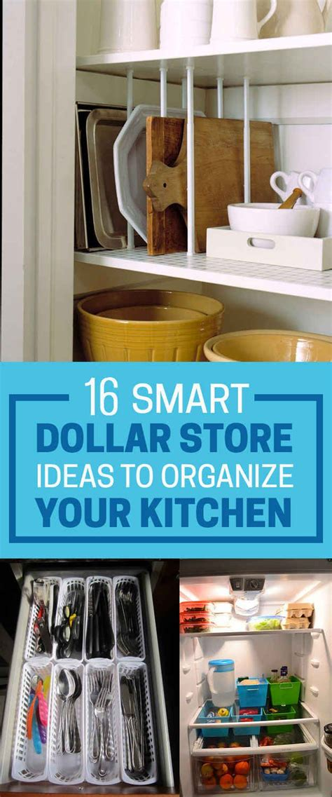 smart dollars 16 smart dollar store ideas to organize your kitchen new